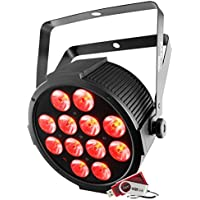 Chauvet SlimPAR Q12 USB Color RGBA LED Par Wash Light...