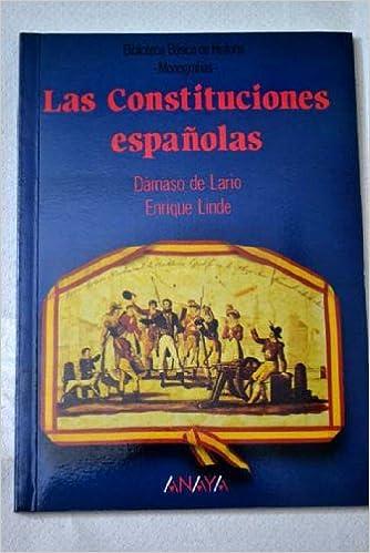 Las constituciones españolas Biblioteca básica de historia: Amazon ...