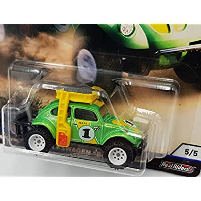 Hot Wheels Car Culture Desert Rally Volkswagen Baja Bug 5/5, Green: Toys & Games