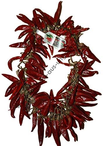 CHILI-TRADE   Paprikakranz (getrocknete Peperoni-Paprikakette) groß