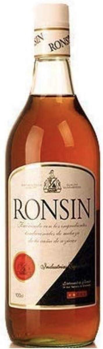 Paquete alternativo de alcohol sin alcohol – 70 cl whissin whisky (whisky sin alcohol) 100 cl Ronsin (ron sin alcohol)