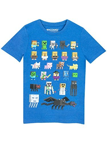 Minecraft Boys Short Sleeved T-Shirt 7-8 Years -