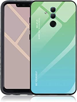 Yunbaozi Degradado de Color Funda para Huawei Mate 20 Lite ...