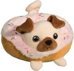 Douglas Pug Donut Macaroon Plush Stuffed Animal