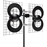 Clearstream 4 Indoor Outdoor HDTV Digital Antenna 70 Mile Range (Non-Retail Packaging)