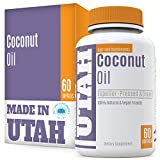 Organic Coconut Oil Nutritional Supplements With Lauric Acid That Is Good For The Health And Immune System, Also Helps The Skin Rejuvenate And Raises Metabolism for a Healthier Body Inside and Out