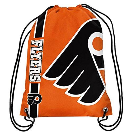 Official National Hockey League Fan Shop Authentic Drawstring NHL Back Sack (Philadelphia Flyers) by NHL Merchandise