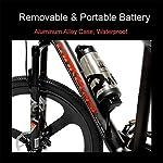 S600-26-pollici-Potenza-Assist-E-bike-240W-36V-in-fibra-di-carbonio-batteria-rimovibile-Telaio-a-disco-idraulico-sensore-di-coppia-del-freno-a-pedale-Assist-Mountain-Bike-Colore-Nero-Bianco-Dimensi