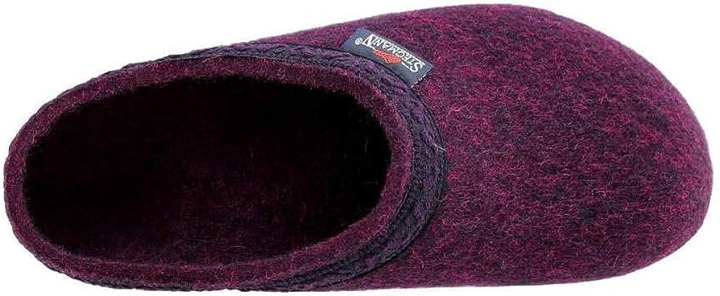 Stegmann Womens Wool Felt Clog with Cork Sole Medium Fit