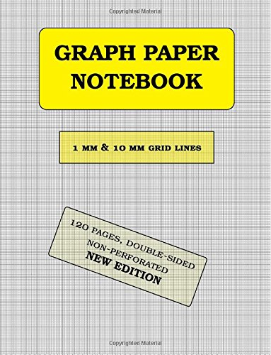 Read Online Graph Paper Notebook: 1 mm thin and 10 mm thicker light gray grid lines (metric, 120 pages): double-sided, non-perforated, perfect binding PDF