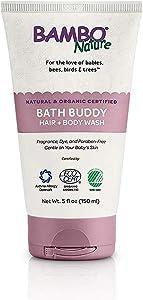 Bambo Nature Bath Buddy Hair & Body Wash, 5 fl oz Tube