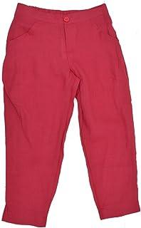 5966caa956c Bella blue Women s Linen harem pants MIRA - Blue -  Amazon.co.uk ...