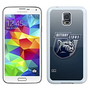 Beautiful Designed With Ncaa Big Ten Conference Football Penn State Nittany Lions 8 Protective Cell Phone Hardshell Cover Case For Samsung Galaxy S5 I9600 G900a G900v G900p G900t G900w Phone Case White