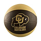 NCAA Colorado Buffaloes Mini Size Rubber Basketball, Brown