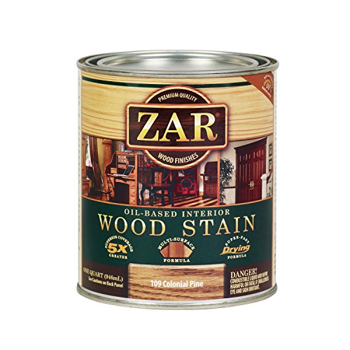ZAR 10912 Wood Stain, Colonial Pine