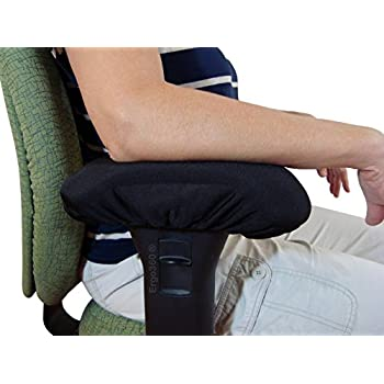 Chair Armrest Arm Pad Covers   Genuine High Density Memory Foam For  Ultimate Elbow Comfort (