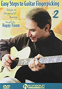 Easy Steps to Guitar Fingerpicking #2-Songs in Dropped D Tuning
