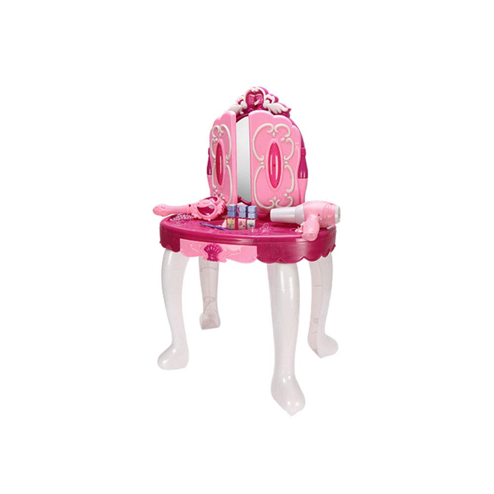 Jian E -// Toys - Girls Play House Toys Large Beautiful Dressing Table - Baby Toys Over 3-4-5 Years Old - 72x46x29cm /-/