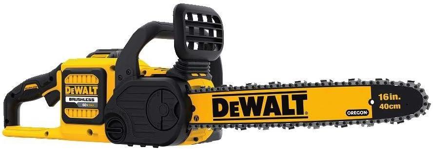 DEWALT DCCS670X1R FLEXVOLT 60V MAX Lithium-Ion Brushless 16 Cordless Chainsaw Kit 3.0AH Certified Refurbished