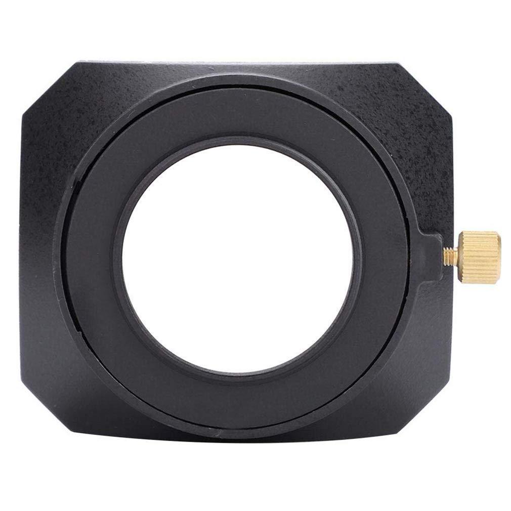 Copriobiettivo Lens Hood Metallo Sostituzione Paraluce lenti 55MM Per Canon Sony Nikon Fujifilm Olympus Pentax Leica Panni per pulire in Microfibra
