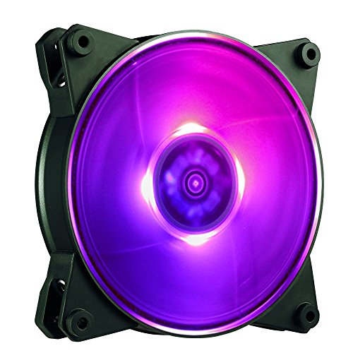 Cooler Master MFY-F4DN-08NPC-R1 MasterFan Pro 140 Air Flow RGB- 140mm High Air Flow RGB Case Fan, Computer Cases CPU Coolers and Radiators