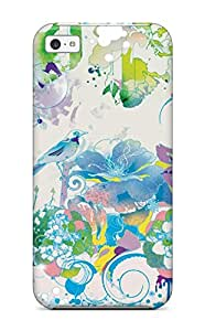 New Thp-735rsWPRxgm Multi Color Animals Flowers Amp Skin Case Cover Shatterproof Case For Iphone 5c