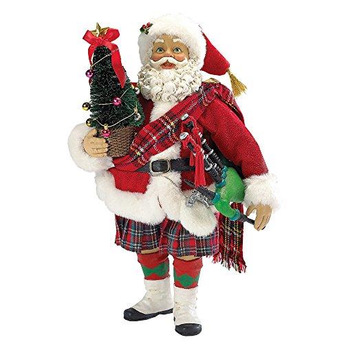 Kurt Adler Musical Scotland Santa