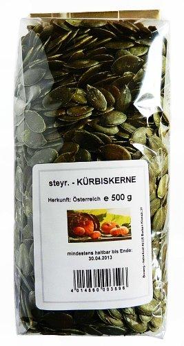 Steirische Kürbiskerne - Steiermark - Schalenlos - 1 kg