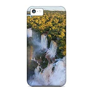 linJUN FENGFashion Tpu Case For iphone 5/5s- Iguasu Falls Defender Case Cover
