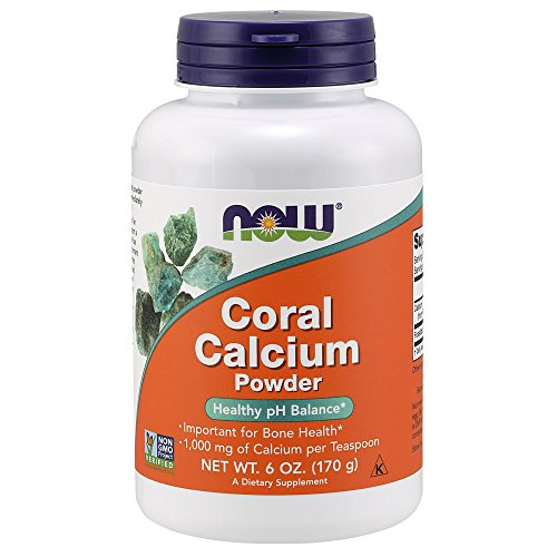 NOW Coral Calcium Powder,6-Ounce