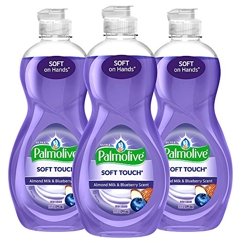 (3 Pk. Palmolive Ultra Soft Touch Dish Soap, Almond Milk and Blueberry - 10FL. Oz)
