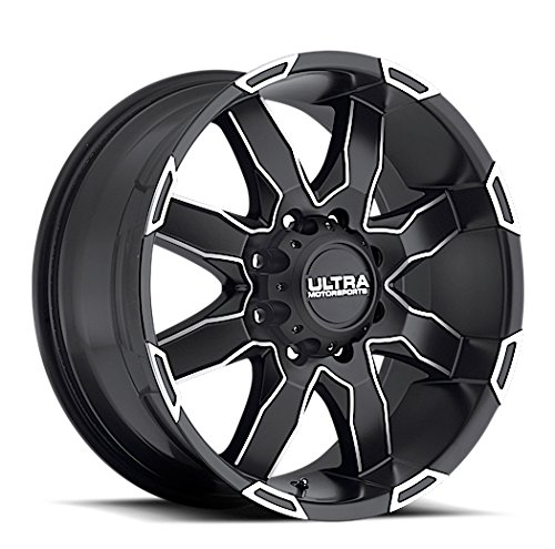 "Ultra Wheel 225U Phantom Matte Black Wheel (18x9""/6x5.5mm, +12 mm offset)"