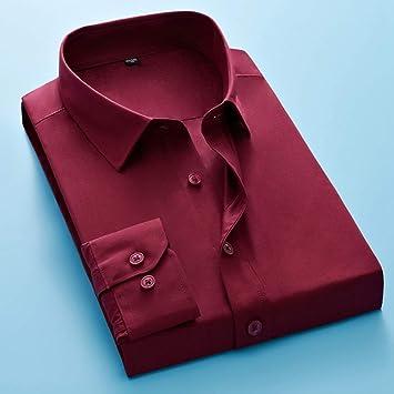 Camisas De Hombre,Moda Primavera Y Otoño Hombres Formal ...