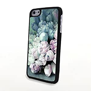 CaseCute Fresh Colorful Flowers Matte Pattern PC Phone Cases fit for Beautiful Liveliy iPhone 6 Case