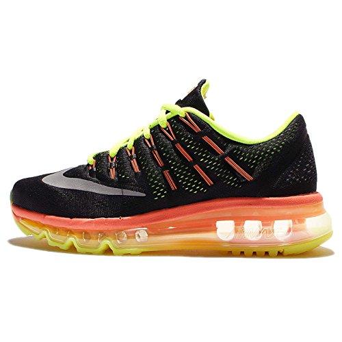 Air Chaussures noir black Noir Garçon Pleine 2016 Argent volt reflect Nike Orange Entrainement Running gs Max De IFTqwqxSd