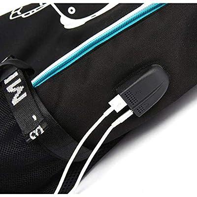 Xxxtentacion Backpack Bag Cosplay Black Oxford Cloth Bags (Color 1): Toys & Games
