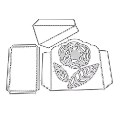 best authentic 0d7ba af8cc Ben-gi Flor 3D Sale del Modelo Caja del Caramelo de Troqueles de Corte de  Acero al Carbono de la Plantilla Plantilla de grabación en Relieve de ...