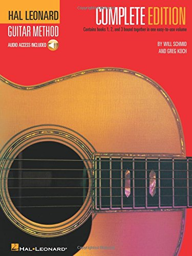 Hal Leonard Guitar Method, Complete Edition: Books 1, 2 and 3 (Best Self Teaching Guitar)
