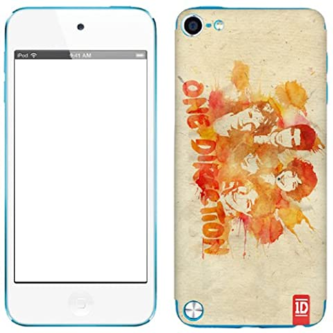 Zing Revolution One Direction Premium Vinyl Adhesive Skin for iPod touch 5G (Watercolor) (One Direction Ipod 5 Custom Case)