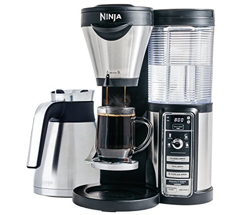 Ninja Coffee Maker for Hot/Iced Coffee with 4 Brew Sizes, Programmable Auto-iQ (CF085Z)