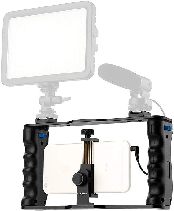 K&F Concept - Soporte Estabilizador de Smartphone para Grabar ...