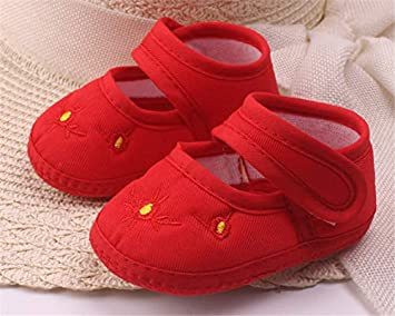 39e17539e9025 Amazon.com : LooBooShop Amazing 0-12 Month Baby Boy Girls Crib Shoes ...