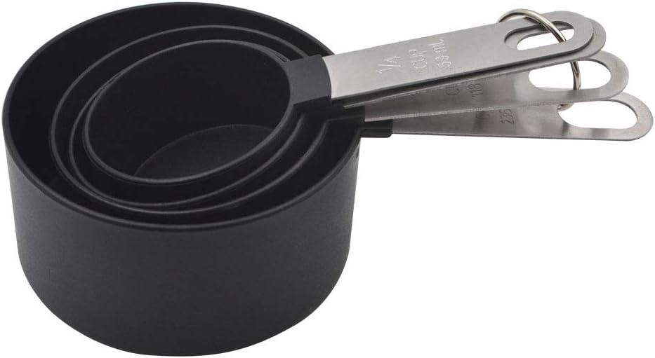 GreeSuit Messl/öffel doppelseitig Set bestehend aus 5 Messl/öffeln aus Edelstahl f/ür fl/üssige und trockene Zutaten Kochen und Backen Multi