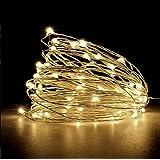 Cordão De Led 10m Fio De Fada - Fairy Light (Branco Quente)