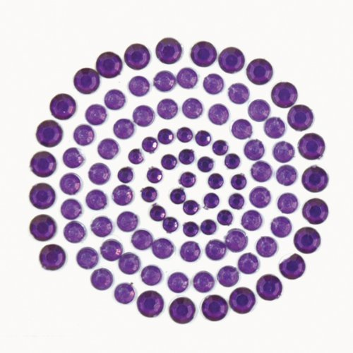 Kaiser Craft Rhinestones, Dark Purple by Kaisercraft