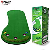 PGM 9.85ftX2.95ft Putting Mat with Whole Golf Hole Indoor&Outdoor Golf Putting Trainers