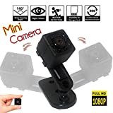 Mini Wireless Hidden Spy Camera HD Portable Small Surveillance Security INVISIEYE Nanny Dash Cam Motion Detection Night Vision Impact Brand Innovations Review
