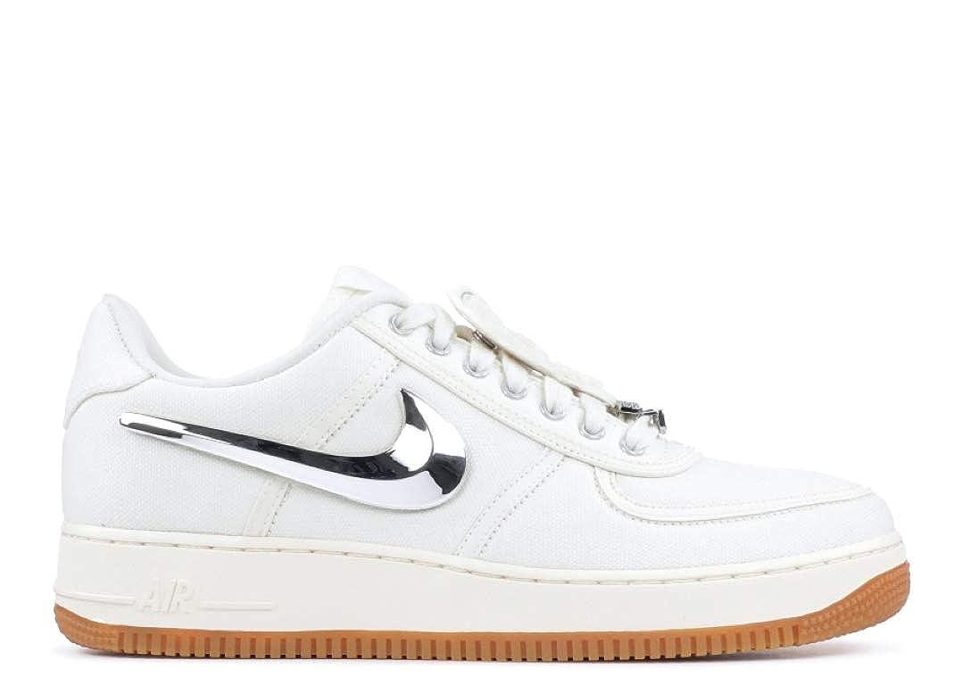 Amazon.com | NIKE AIR Force 1 Low Travis Scott Mens Sneaker AQ4211-101 | Running