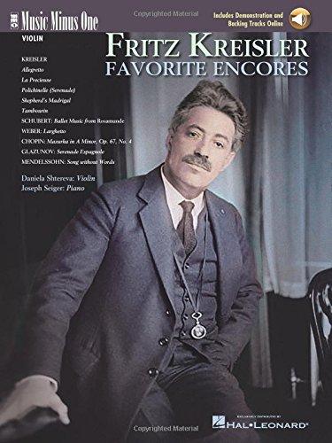 Fritz Kreisler - Favorite Encores: Music Minus One Violin (Music Minus One (Numbered))