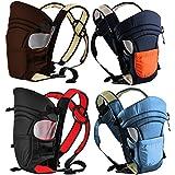 Monsieur Bébé ® Porte bébé ventral 2 positions + poche de rangement - 4 coloris - Norme EN 13209